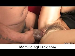 Horny hot milf getting big black monster 14