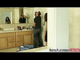 Hot Brunette milf (Francesca Le) gets pounded by (Erik Everhard) in her hairy..