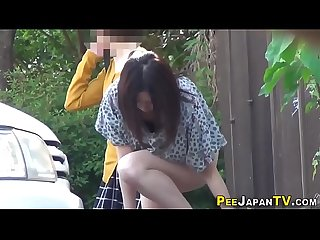 Japanese slut pissing