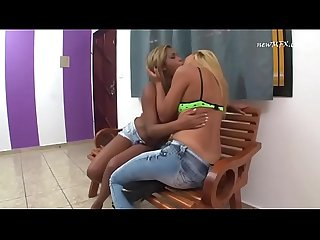 Brazilian Girls Kissing