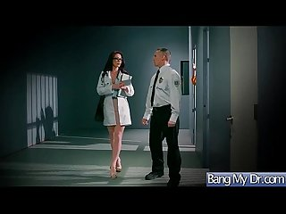 Slut пациент Monique alexander соблазнять doctor for hard Sex action Movie 19