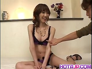 Yui Natsuki aroused and fucked with sex toys