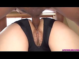 Yuri sakurai enjoys cock all the way into her tight holes