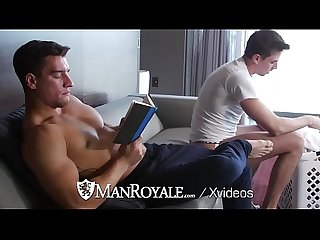 Manroyale morning laundry fuck with jack hunter and jordan boss