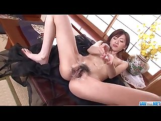 Kanon hanai enjoys pleasure down her soapy pussy