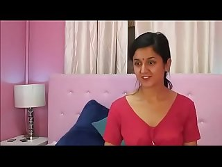 Hot nri devi bhabi striptease and fingering naked show