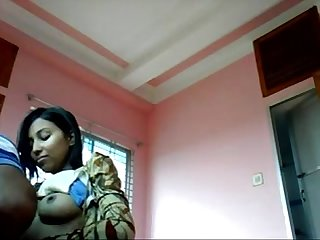 Indian bengali girl sex her boyfriend bedroom wowmoyback