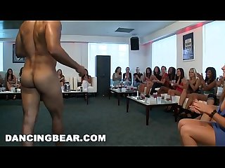 Dancingbear cfnm hotel party with big dick male strippers db7169