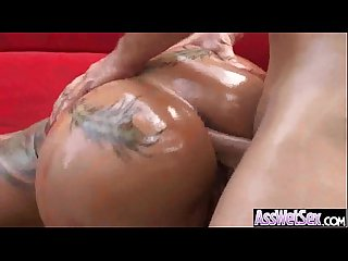 Big Wet Butt Girl (bella bellz) Enjoy Hardcore Anal Sex movie-11