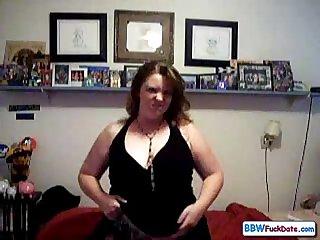 Bbw lady sexy homemade masturbate