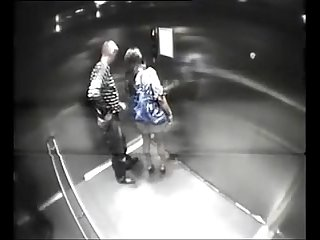 Amateur couple fuck in elevator pornrough com