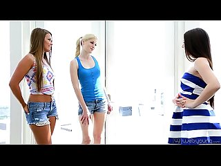 Teenie Lola Foxx, Aubrey Star, Charlotte Stokely and Abby Cross