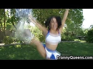 Flexible Ts cheerleader fucks hard