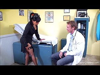 Meximilf gabby quinteros sucks fucks her doctor