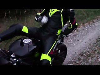 Dainesebikerboy leather biker