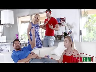 Sarah vandella zoey parker in i pledge allegiance to My father figures cock