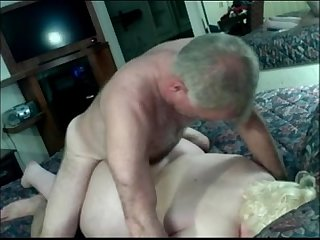 Assfucking a fat dirty talking blonde