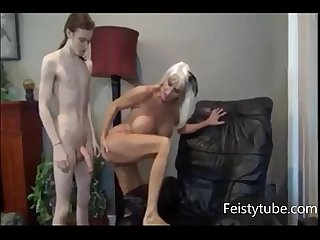 mother milks sons cock -feistytube.com
