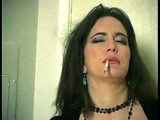 Miss taylor smoking and masturbating at home