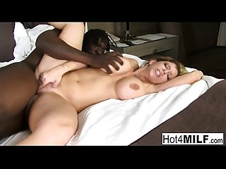 Sara Jay receives a big black dick
