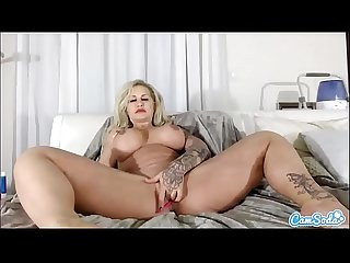 CamSoda - Ryan Conner Masturbation and Anal Play MILF Big Tits