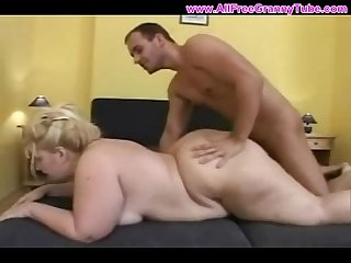 Very fat mature mother fucked up