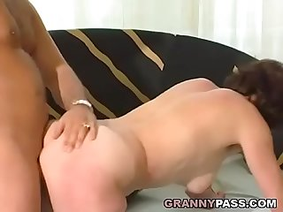 Hairy German Granny Gets Pounded