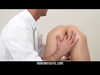 MormonBoyz- Perfect Teen Butthole Gets A Creampie