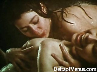Vintage lesbians 1970 wet and natural