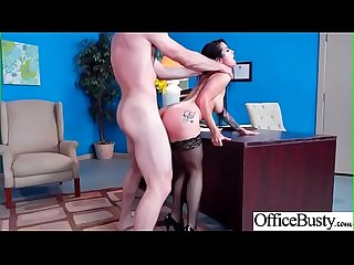 (Katrina Jade) Hot Busty Girl In Hard Intercorse In Office movie-15