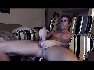 Hot cum in the sofa