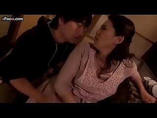 Hot step mother makes her son horny