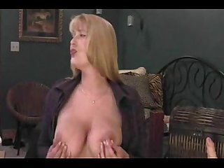 Big tited milf has orgasm