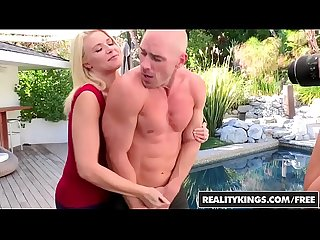 RealityKings - CFNM Secret - Expose Yourself starring Anikka Albrite and Cherie Deville and Johnny S
