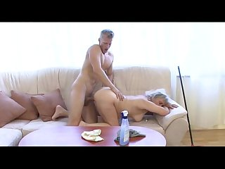 Mature whore fucks younger dude