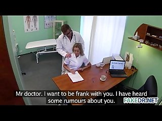 Fake doctor fucks his assistant