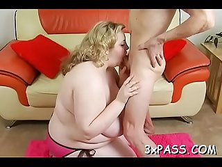 Bbw fellatio