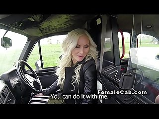 Run away dude cath female fake taxi