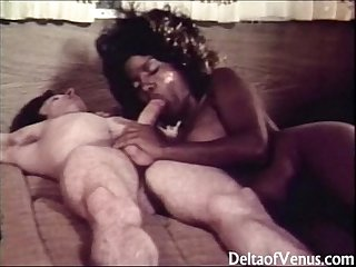 Vintage interracial Erotica 1970s the open Road