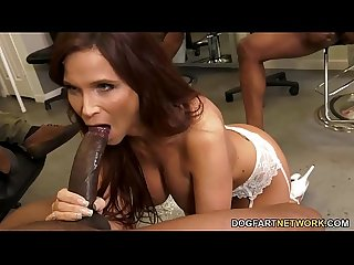 Bbc slut stepmom syren demer gets gangbanged by stepson s Black friends