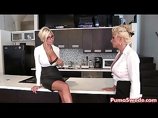 Puma swede bobbi eden are the lesbian office slut