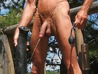 Outdoor stallion penis ass fuck and horse cock anal sex