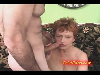 My granny is a cum slut like my mom