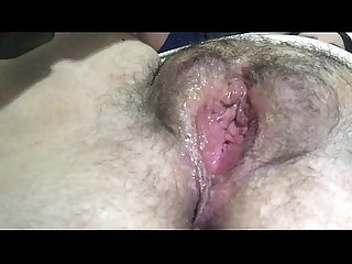 Shaking wet orgasm