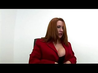 Big-haired redhead step sister shits her brother
