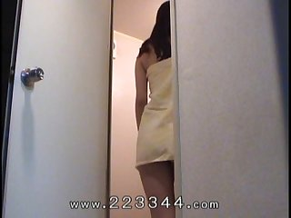 Peep japanese slender girls private life by hidden camera