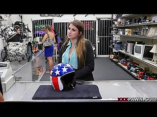 Ivy rose tries to pawn a famous daredevil s helmet on xxxpawn