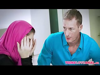 Brother in law Blackmailing muslim girl