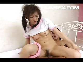 Asian model enjoys a hard fucking in lots of positions