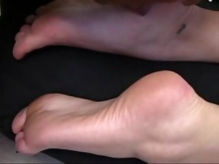 Hot Blonde Gets Feet Sucked and Licked!